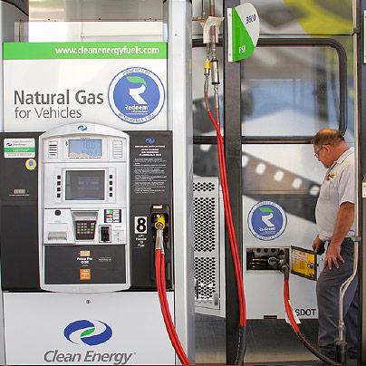 Clean Energy renewable fuel station
