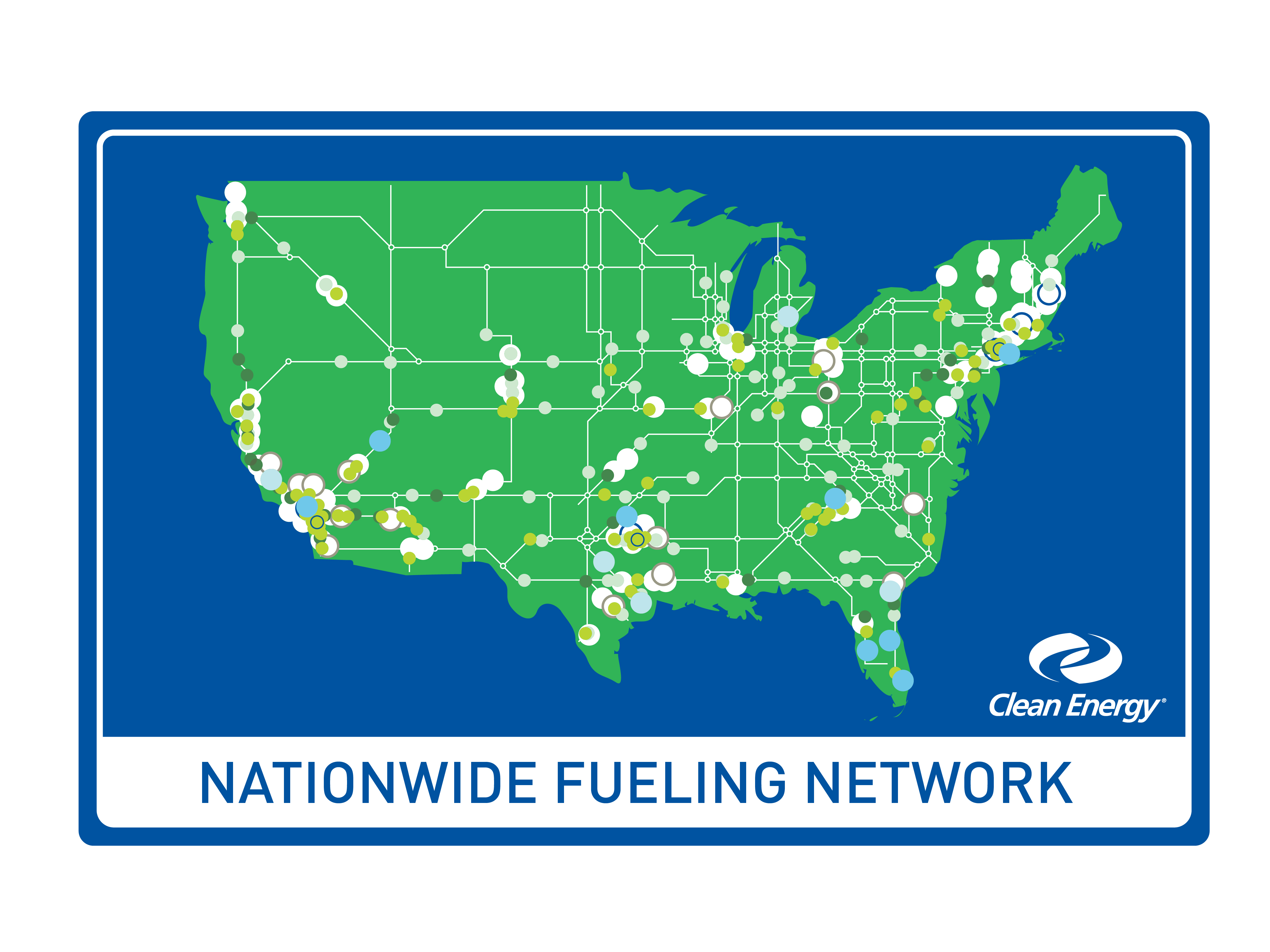 Clean energy corporate clean energy fuels download the nationwide fueling network map download g gumiabroncs Image collections