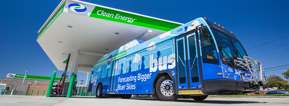 Big Blue Bus Fueling A Renewable Future One Bus At A Time