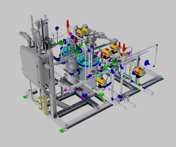 LNG Double Boost Pump Skid