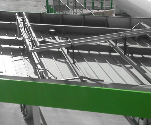 Stainless Steel Vacuum Jacketed Piping