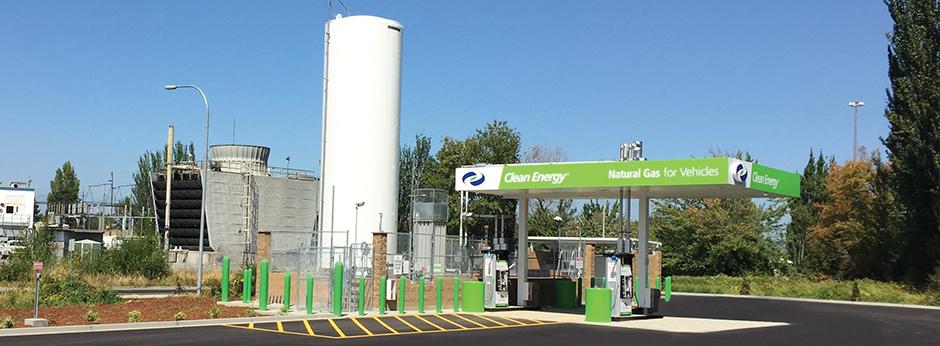 Natural Gas Stations >> Clean Energy Opens Lng Station In Washington State Expands Natural