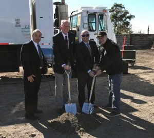 Clean Energy Fuels Breaks Ground on First CNG Fueling Station in the Bronx