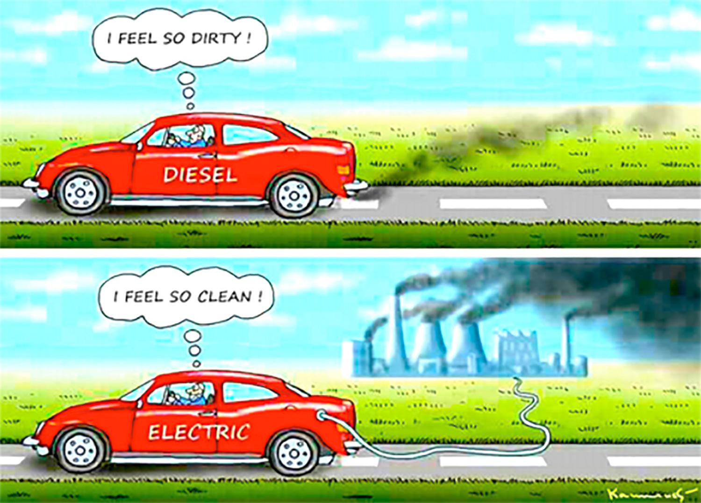 Driving A Sel Car I Feel So Dirty An Electric Clean
