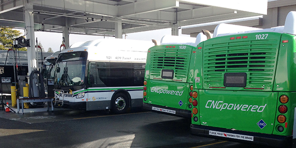 BC Transit, Natural Gas, Clean Energy, CNG, Transit