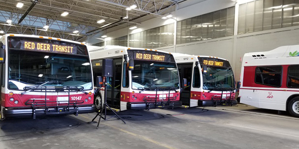 City of Red Deer, Clean Energy, Natural Gas, CNG, Transit, Canada
