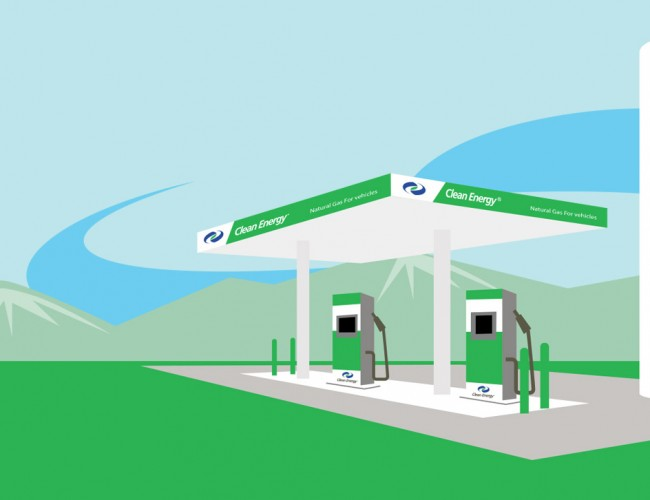 RNG Fueling Station
